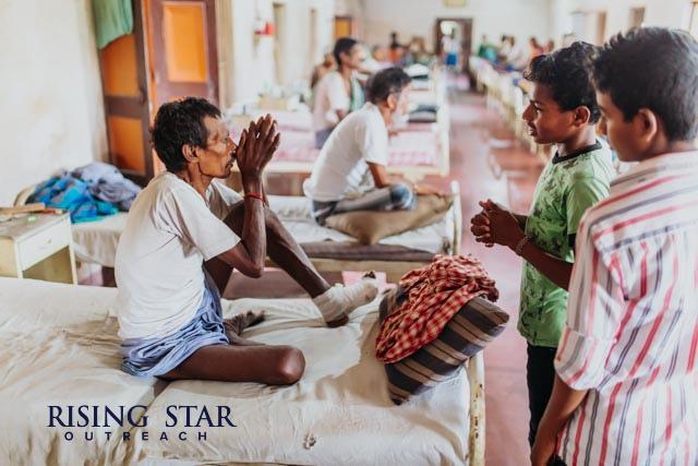 Leprosy Hospital in India